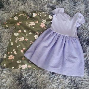 OLD NAVY dress bundle 5t